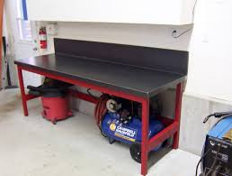 Woodworking Bench Top Thickness by Ideas For Workbench Top The Garage Journal Board Garage Plan