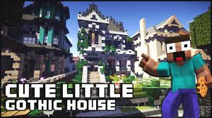 Cute House by Minecraft Cute Little Gothic House With A Surprise Youtube