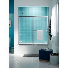 Sterling Bathtub Installation Sterling Prevail 59 3 8 In X 56 3 8 In Framed Sliding Tub Shower