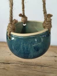 Hanging Ceramic Planter by Handmade Small Ceramic Hanging Planters For Succulent Or Cactus