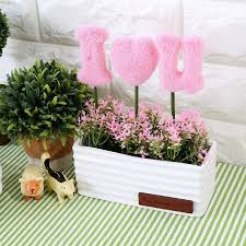small fake plants gardens and landscapings decoration