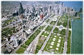 grant park chicago map chicago s lakefront parks