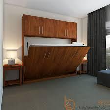 horizontal urban murphy bed w top hutch transitioning sofa beds