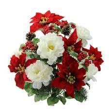 poinsettia flower arrangements you ll wayfair