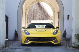Ferrari F12 Yellow - novitec release new n largo s for ferrari f12 scuderia car parts