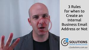 Email Address Business by 3 Rules For When To Create An Internal Business Email Address Or
