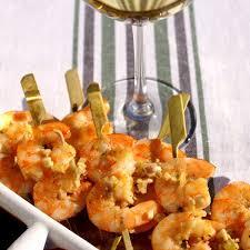 cuisine crevette recette crevettes marinées au gingembre et à la citronnelle