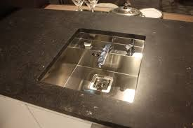 new kitchen sink styles showcased at eurocucina stosa retractible faucet sink