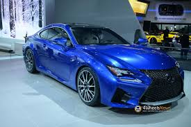 lexus coupe 2015 2014 naias 2015 rc f coupe has the most powerful ever lexus 5 0