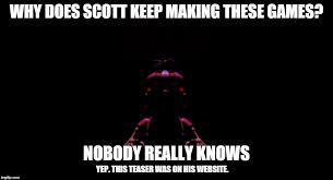 Meme Making Website - image tagged in fnaf scott cawthon teaser funny meme imgflip