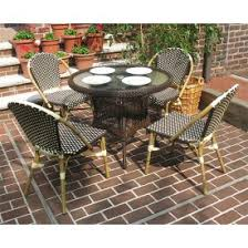 small outdoor wicker patio dining sets