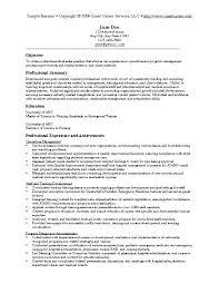 resume objective statement exles management companies sales resume objective statements