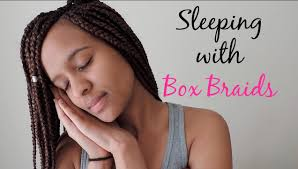 my braids are too heavy how to sleep with box braids youtube