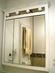 3 door medicine cabinet ergonomic 3 way mirror medicine cabinet bathroom 3 mirror medicine