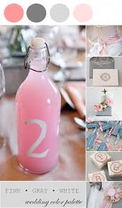 Pink And Grey Color Scheme Wedding Color Palette Pink Gray And White The Perfect Palette