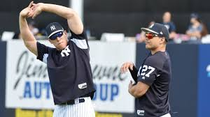 Aaron Judge Joins An Exclusive Club Of Yankees All Stars Pinstripe - hitting second for the yankees maybe aaron judge newsday