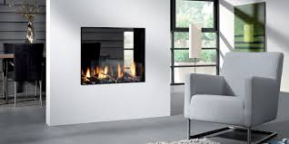 bioptica by element4 see through fireplace direct vent gas