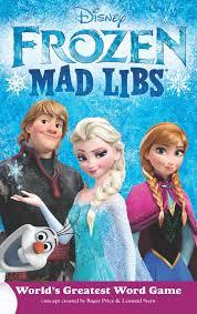 Frozen Storybook Collection Walmart Frozen Mad Libs 059986 Details Rainbow Resource Center Inc