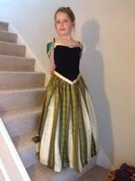 Princess Anna Halloween Costume Coronation Dress Free Sewing Tutorial Sunset Family Living