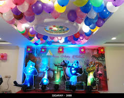 Theme Decoration by Kung Fu Panda Themed Birthday Party Decoration At Sozhia