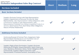 exclusive sales representative contract u2014 supplier contracts4biz