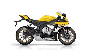 yamaha yzf r1 60th anniversary edition shows a timeless yellow