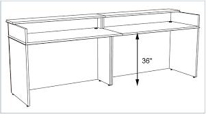 Ada Reception Desk Reception Desk Height Ada Home Desks Ideas Hash