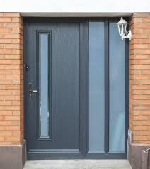 Composite Exterior Doors Grey Composite Thermally Efficient Secure Looks Great