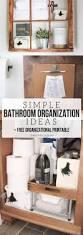 easy bathroom organization ideas for a quick refresh u2013 craftivity