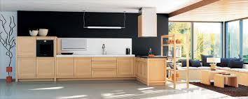 cuisine en chene moderne cuisine en chene clair moderne avec collection et cuisine chene