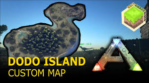 of arkansas cus map ark survival evolved dodo island custom map