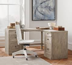 Corner Desk Pottery Barn Livingston Corner Desk Pottery Barn