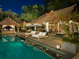 15 villa maya retreat pool at night jpg