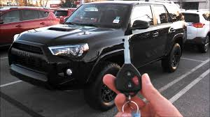 toyota 4runner 2017 black 2015 toyota 4runner trd pro walkaround and review youtube