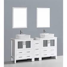 Wall Mounted Bathroom Vanity Cabinets Contemporary Bath Vanity White Wood Bathroom Vanity Modern Wall