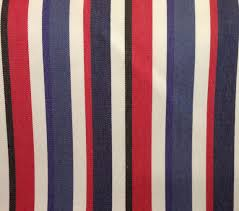 Black And White Striped Upholstery Fabric Red White Blue And Black Stripe Upholstery Fabric Fabric By The