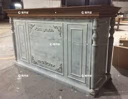 Antique Reception Desk Hot Sale Wooden Counter Cashier Desk Hotel Reception With Antique