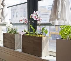 3 pot hydro planter weathered grey u2013 modernsprout