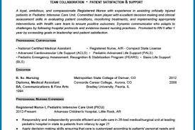 Sample Pediatric Nurse Resume by Sample New Grad Nursing Cover Letter Resume Cv Cover Letter