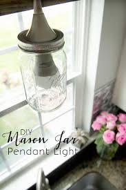 craftaholics anonymous diy mason jar pendant light tutorial