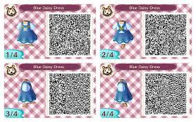 acnl qr code blue dairy dress acnl greyson pinterest qr