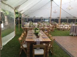 tent rental nyc farm table wood 8 foot 9 inch x38 inch rentals plattsburgh ny