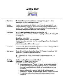 home economics teacher resume example secondary teacher