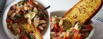cuisiner haricots blancs secs recette végétarienne haricots blancs puttanesca et à l ail