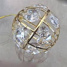 swarovski prisms ornament made with 12 prisms 24k