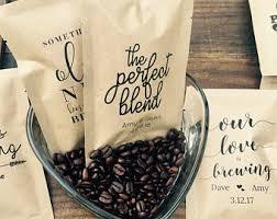 coffee wedding favors coffee wedding favor etsy