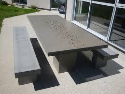 Concrete Patio Table Amazing Of Concrete Patio Furniture Concrete Outdoor Furniture