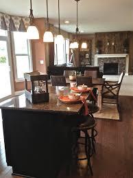 islands glamorous kitchen design dinning room two level kitchen