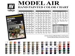 100 paint colour chart revell revell 1 570 scale rms