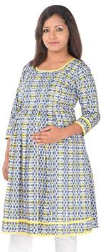 ziva maternity wear ziva maternity wear women cotton tops zmn1026 orange